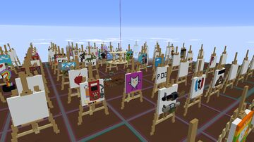TOOFTY Community Painting Contest -  Fruitlab Server Event Minecraft Map & Project