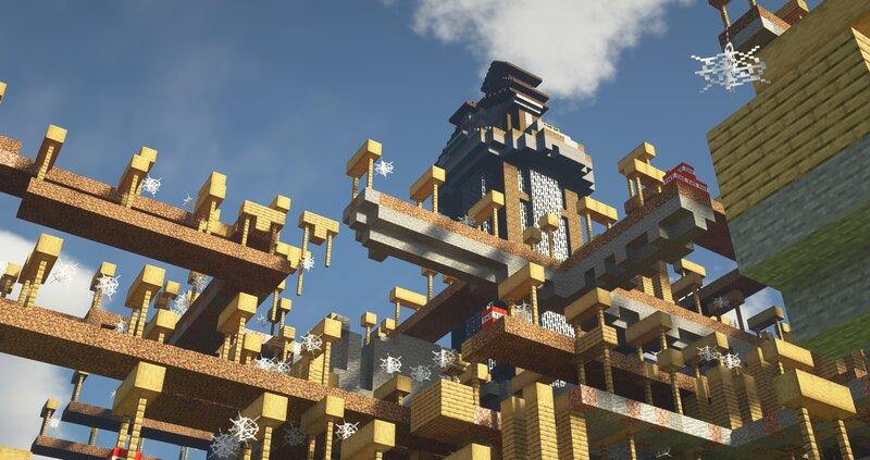 custom mineshaft . The Vault Mine