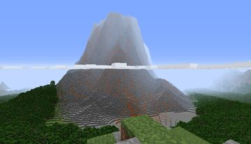 Volcanic Montains Minecraft Map & Project