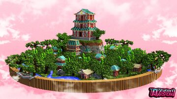 Oriental Temple MAP Minecraft Map & Project