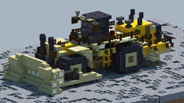 Cat 854K, Wheel Dozer [With Download] Minecraft Map & Project