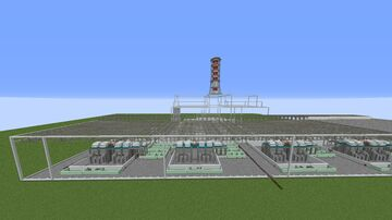 KNPP/КАЭС v0.3 Minecraft Map & Project