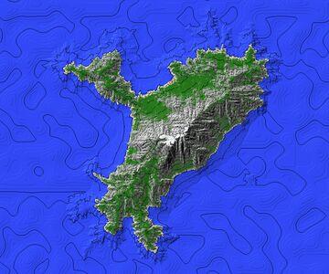 Isla Montañosa Minecraft Map & Project