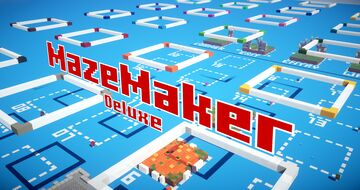 Maze Maker Deluxe Minecraft Map & Project
