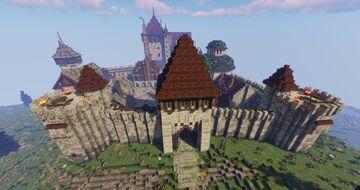Mirador Castle Minecraft Map & Project