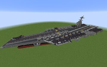 Type 004 Aircraft Carrier (Current gen; pre- 2035) Minecraft Map & Project