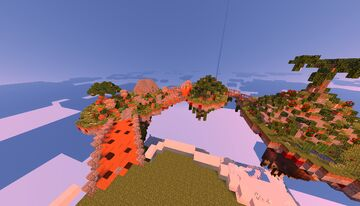 1.12.2 Minecraft version SKY ISLAND SPAWN for free Minecraft Map & Project
