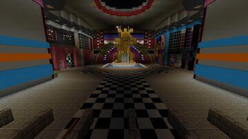 FNaF: Security Breach RTX Showcase Trailer Minecraft Map & Project