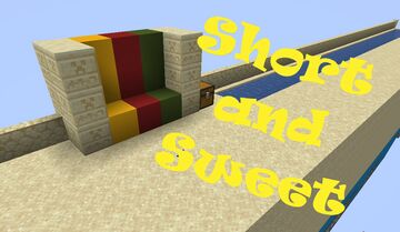 Short and Sweet:  Race for the Wool (1.16.5) Minecraft Map & Project