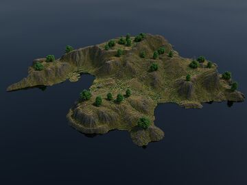 Download •|• Little island Minecraft Map & Project