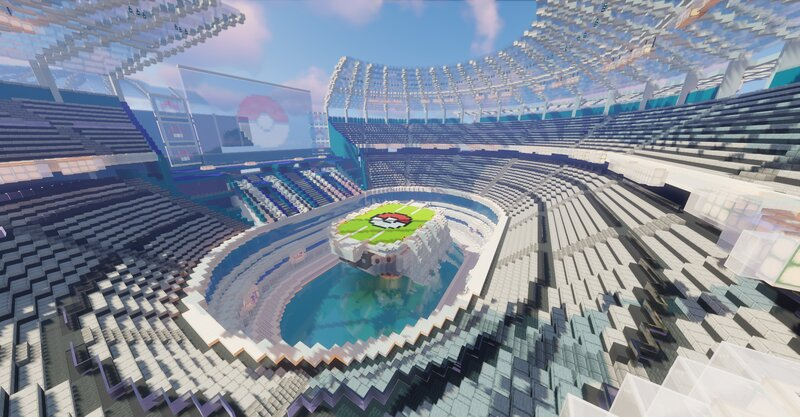 forgot to remove the old stadium with the bad roof at the back