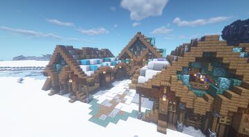 Fish market in the frontier Minecraft Map & Project