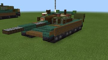1.5:1 scale T-80B Minecraft Map & Project