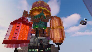 Elytra Course - [Steam Punk - ScFi Theme] Minecraft Map & Project