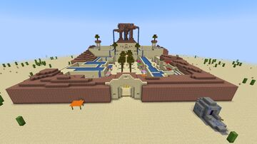 Zelda - Breath of the Wild Gerudo Town Minecraft Map & Project