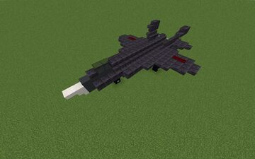 J-31 Chinese Multirole Stealth 5th generation fighter Minecraft Map & Project