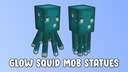 Glow Squid Mob Statues Minecraft Map & Project