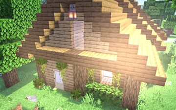 Cozy wooden house Minecraft Map & Project
