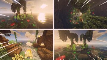 Beautiful island Minecraft Map & Project