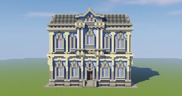 Baroque Mansion Minecraft Map & Project