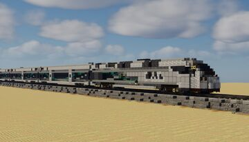 CAF SAR-200 push-pull Diesel train Minecraft Map & Project