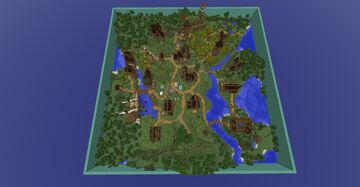 My Spawn Build 3 years ago. Minecraft Map & Project