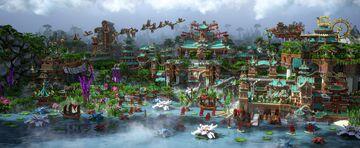 武陵仙鄕圖 | The flight of twilight Minecraft Map & Project