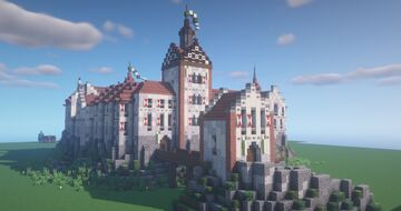 Ornstein Castle Minecraft Map & Project