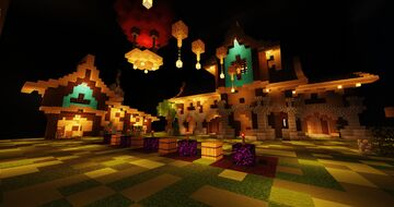 Monsters Industries Remastered Minecraft Map & Project