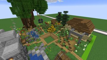 Small Spawn Area Minecraft Map & Project