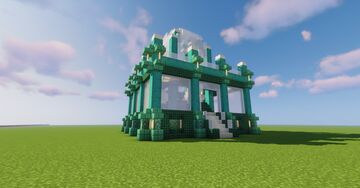Blue Store Minecraft Map & Project