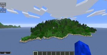 Pog Island 1k x 1k Minecraft Map & Project