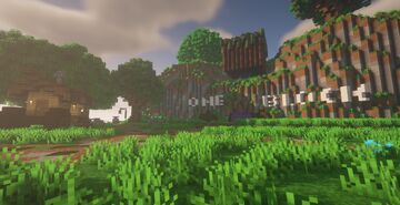 One Block Spawn Minecraft Map & Project