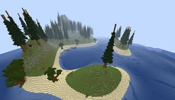 massive wreck for survival with caves Minecraft Map & Project