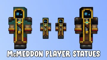 McMeddon Player Statues Minecraft Map & Project
