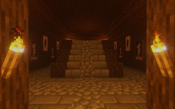 Stronghold Base Minecraft Map & Project