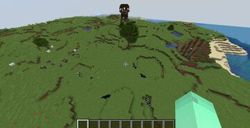 Seed: Pillager Outpost at Spawn Minecraft Map & Project