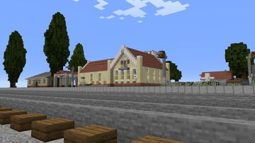 Post-Soviet Town Minecraft Map & Project
