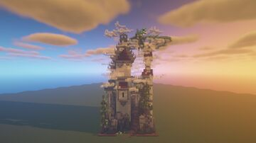 cloudy castle [DOWNLOAD] Minecraft Map & Project