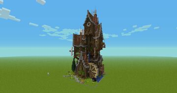 House Steampunk Minecraft Map & Project