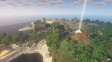 My second Minecraft base version 1.15 (early 2020's)! Seems like I'm getting better at building! Minecraft Map & Project