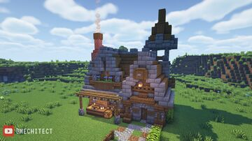 Medieval Storage House Design! Minecraft Map & Project
