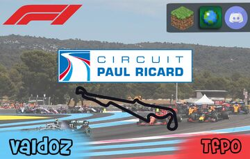 Paul Ricard - Le Castellet (F1 Track) (With @Tfpo_Gamer17) Minecraft Map & Project