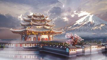 Oriental Palace Minecraft Map & Project