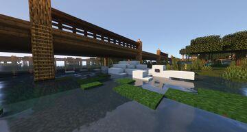 White Alligator Minecraft Map & Project