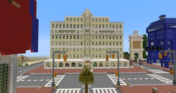 The Taviwood Hotel Minecraft Map & Project