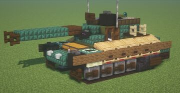 SK-105 Kürassier (1.5:1 Scale) Minecraft Map & Project