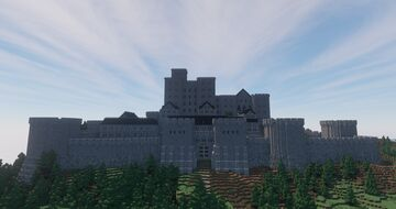 Medieval Fort (not finished) Minecraft Map & Project