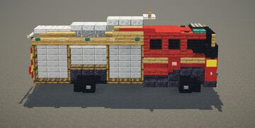 London Fire Engine Minecraft Map & Project