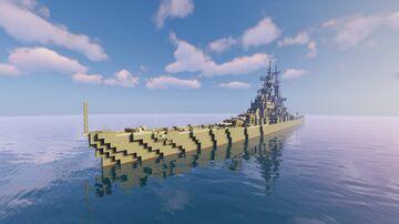 USS Sao Paulo[Full Interrior] Minecraft Map & Project